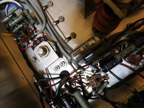035 自作受信機 コイルパック トリオ バリコン 部品取り 真空管 ラジオ_画像5