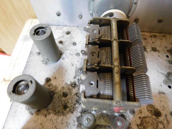035 自作受信機 コイルパック トリオ バリコン 部品取り 真空管 ラジオ_画像8