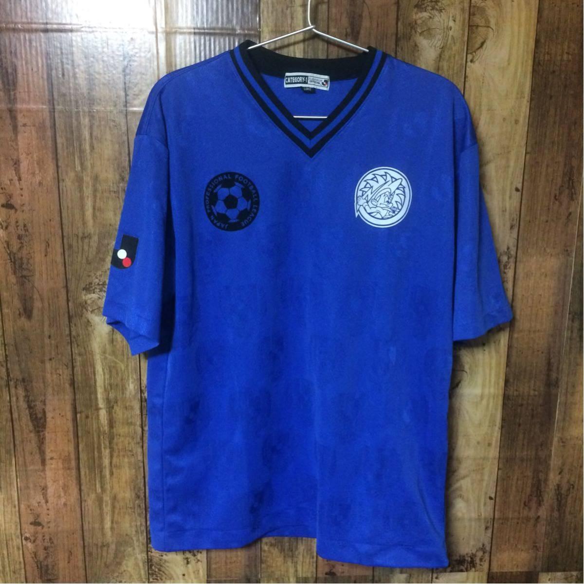 【コレクターアイテム】ガンバ大阪 Jリーグオフィシャル ユニフォーム Tシャツ Lサイズ_画像1