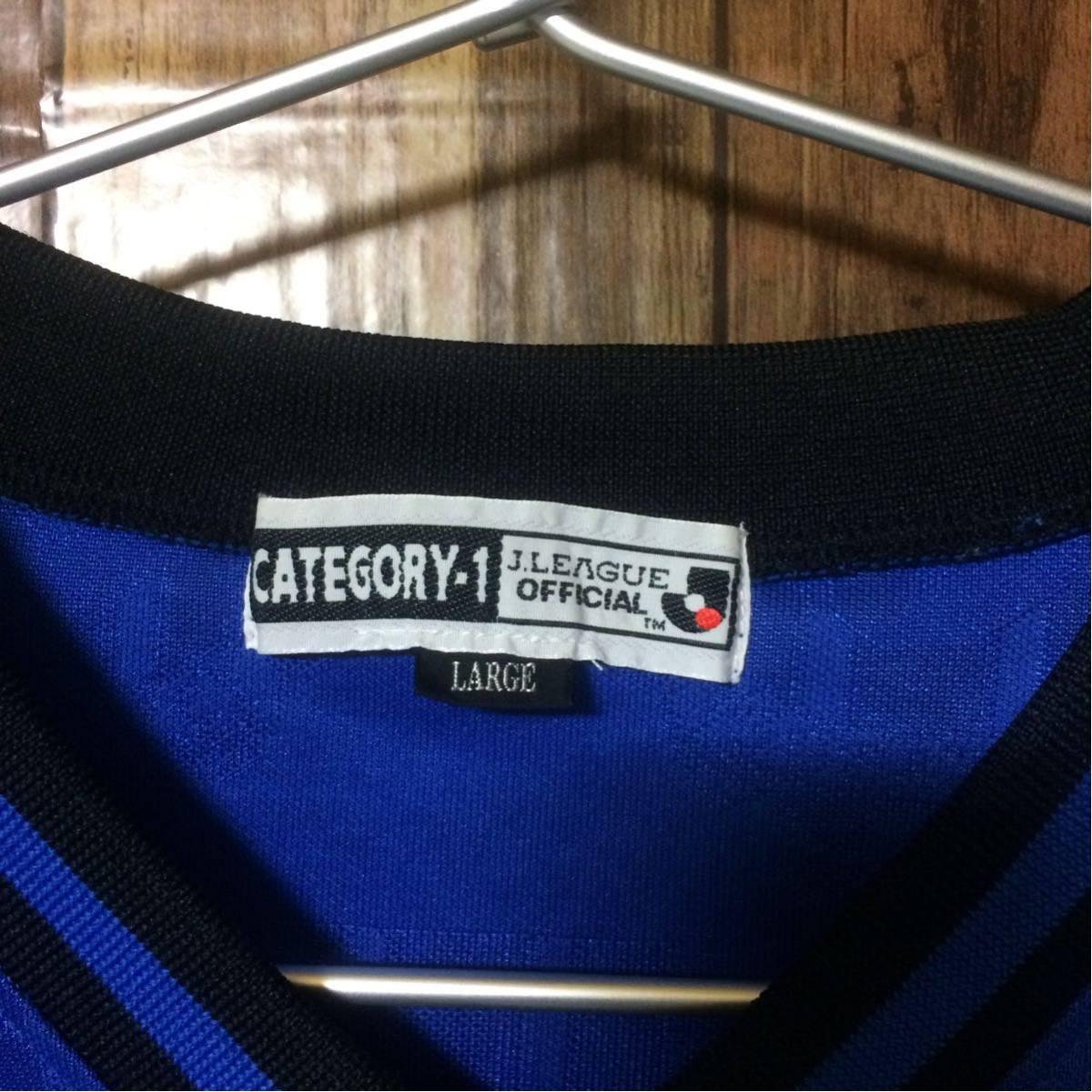 【コレクターアイテム】ガンバ大阪 Jリーグオフィシャル ユニフォーム Tシャツ Lサイズ_画像6