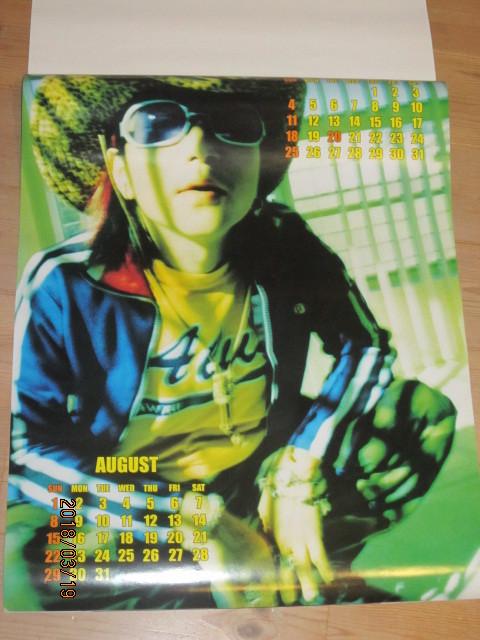 絶版◆HIDE◆ヒデ1999年カレンダーポスター新品その⑧X JAPAN◆ジャパメタヘビメタYOSHIKIPATA TAIJI TОSHIエックスインディーズバンド_画像5