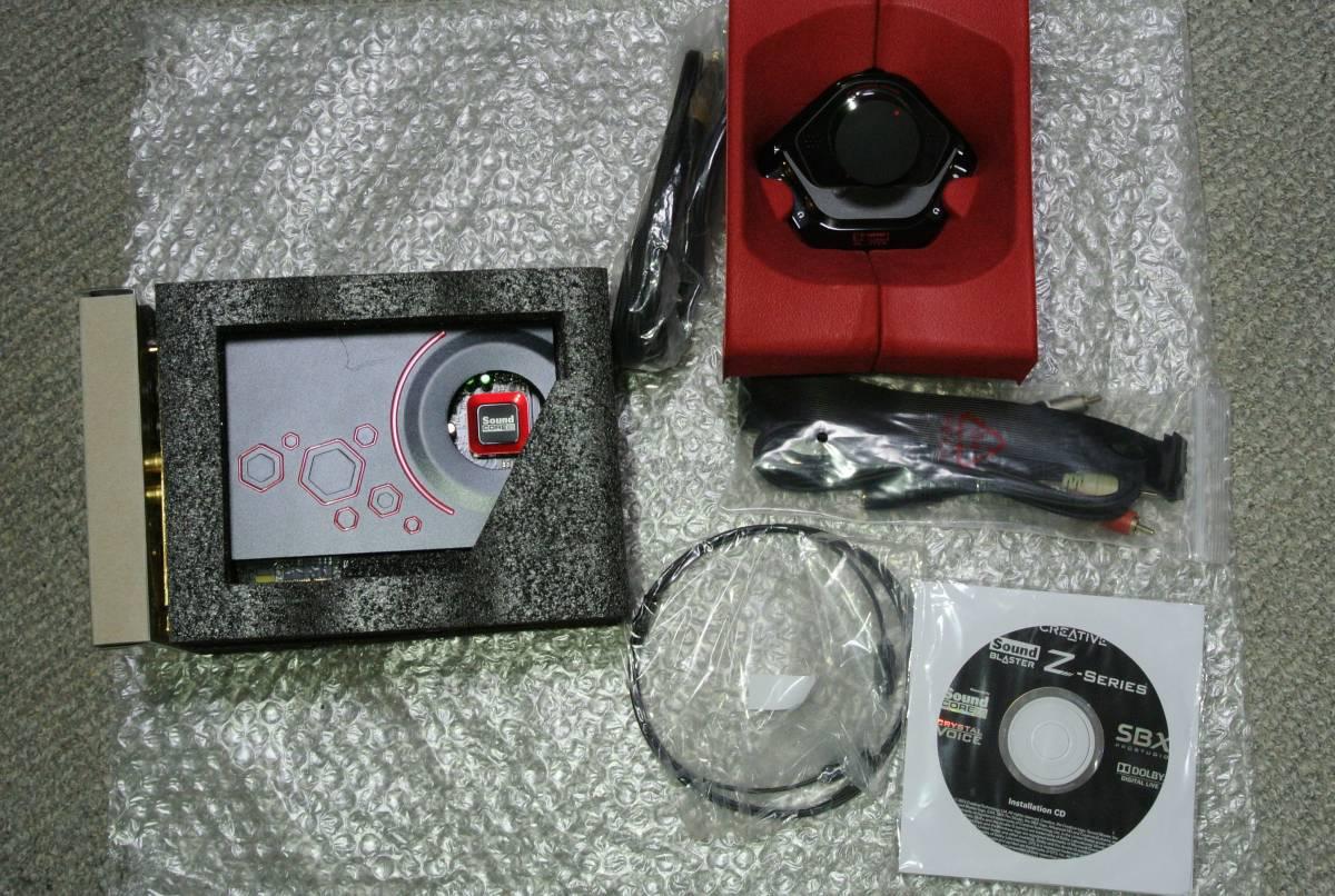 極上美品 Creative PCIe Sound Blaster ZxR SB-ZXR-R2