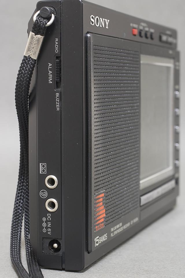 中古品|SONY:ソニー|15バンドラジオ|ICF-7600DA|PLLシンセサイザーレシーバー|FM/LW/MW/SW|短波|BCL|液晶ダイヤル_画像4