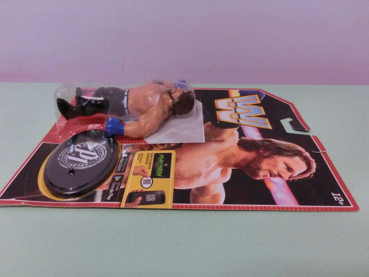 WWE AJスタイルズ フィギュア人形 プロレス MATTELマテル WWF WCW ハズブロ RAW アレン・ジョーンズ AJ Styles Figure TNA 新日本プロレス_画像4