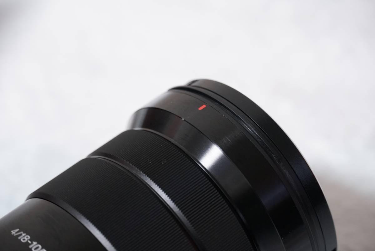 SONY SELP18105G ソニー E PZ 18-105mm F4 G OSS 2016年10月購入_画像4