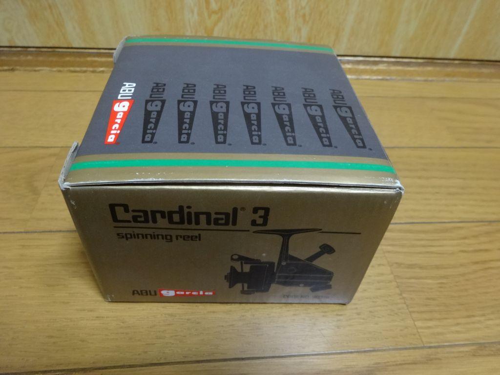 ABU ガルシア Cardinal 3 空箱_画像2