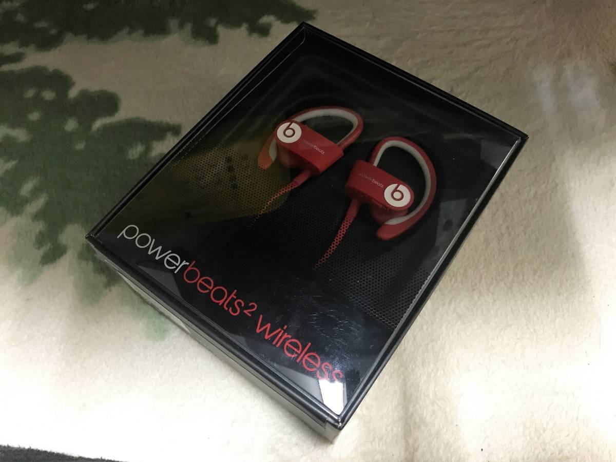 Beats by Dr.Dre Powerbeats2 Wireless Bluetooth対応 カナル型ワイヤレスイヤホン スポーツ向け レッド MHBF2PA/A