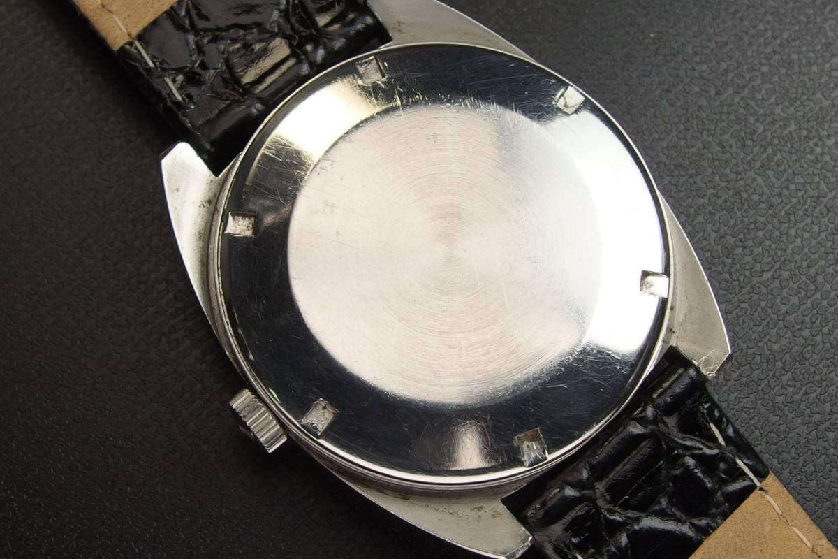 IWC インターナショナルウォッチカンパニー Ref.1872 C.8541B Cライン SSxレザー 自動巻き メンズ 腕時計_画像10