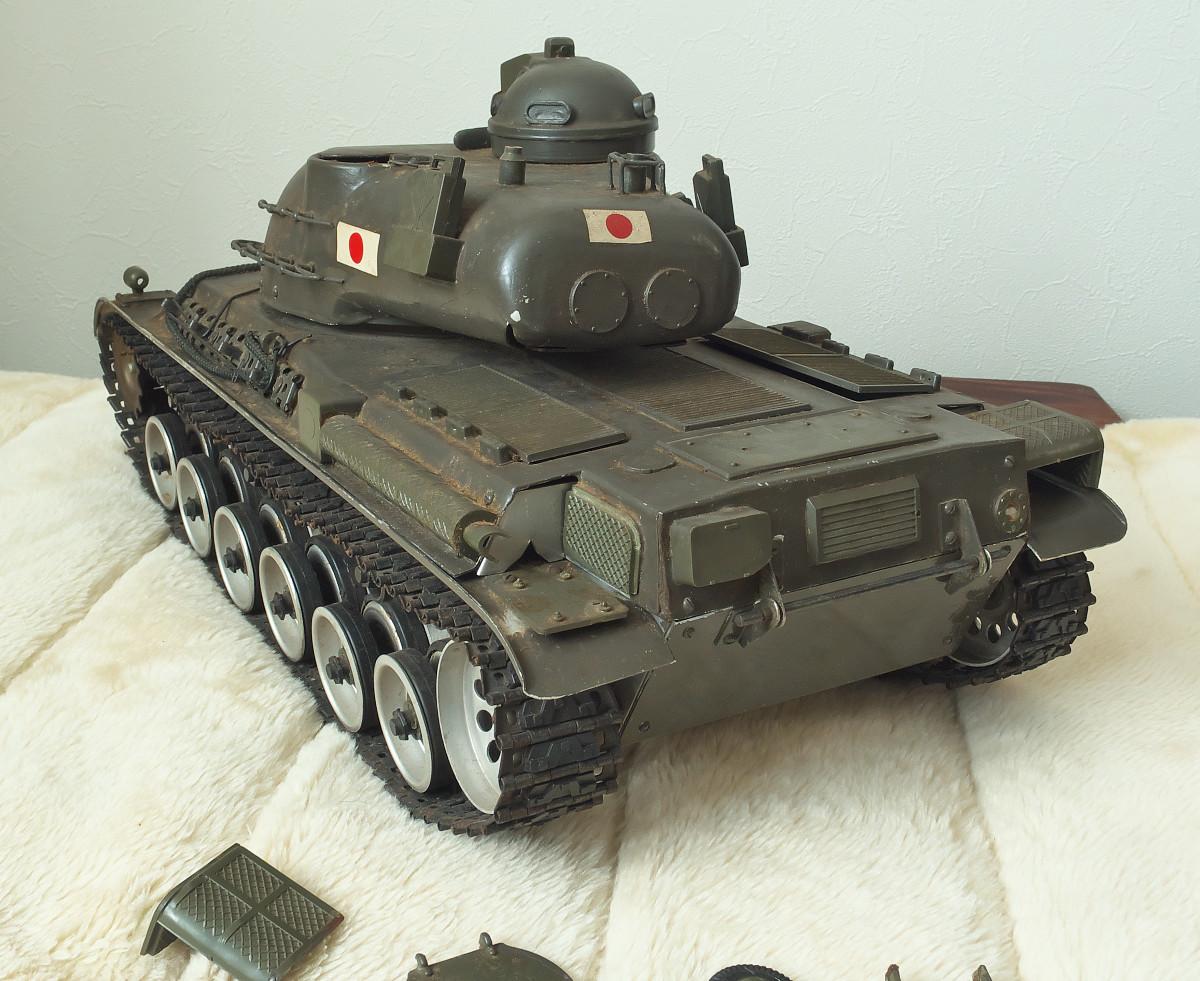 相原模型製作所 1/15 61式戦車 ジャンク_画像4