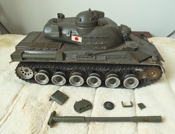 相原模型製作所 1/15 61式戦車 ジャンク
