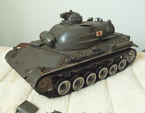 相原模型製作所 1/15 61式戦車 ジャンク_画像3