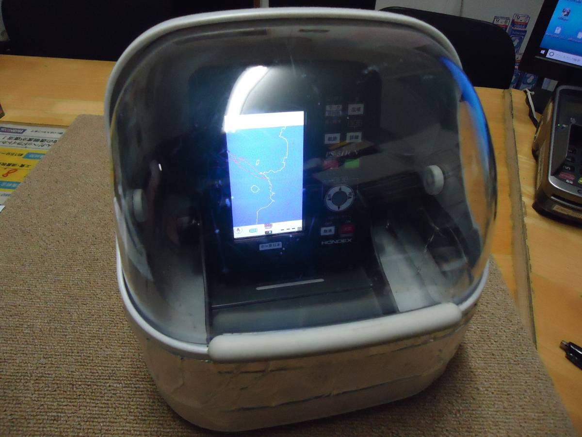 ☆☆☆HONDEX ホンデックス 4.3型ワイド カラー液晶GPSアンテナ内蔵魚探 PS-511CN-E ちょいナビ 中~東日本