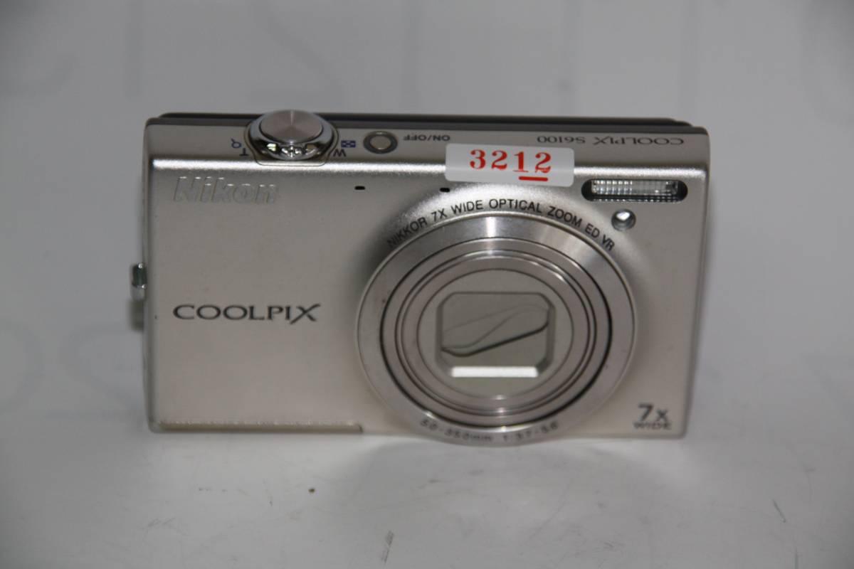 [MC]3212 ジャンク品 ニコン COOLPIX S6100