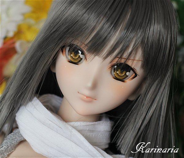 ◆Karinaria◆DDH-07カスタムヘッド+アイ3組 SW肌