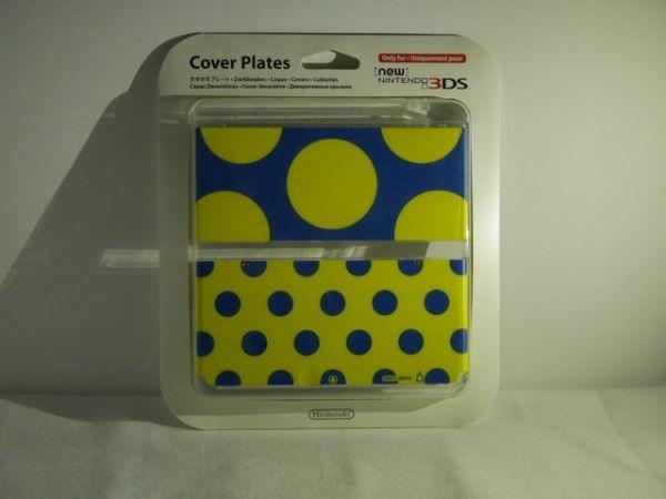 3DS ニンテンドー3DS きせかえプレート NO.018 ドットストライプ マリオ どうぶつの森 新品 送料無料 即日発送