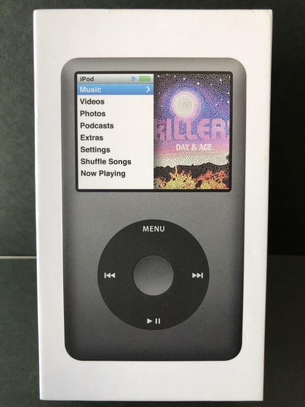 【1円スタート!】APPLE iPod Classic 160GB MB145J/A ジャンク