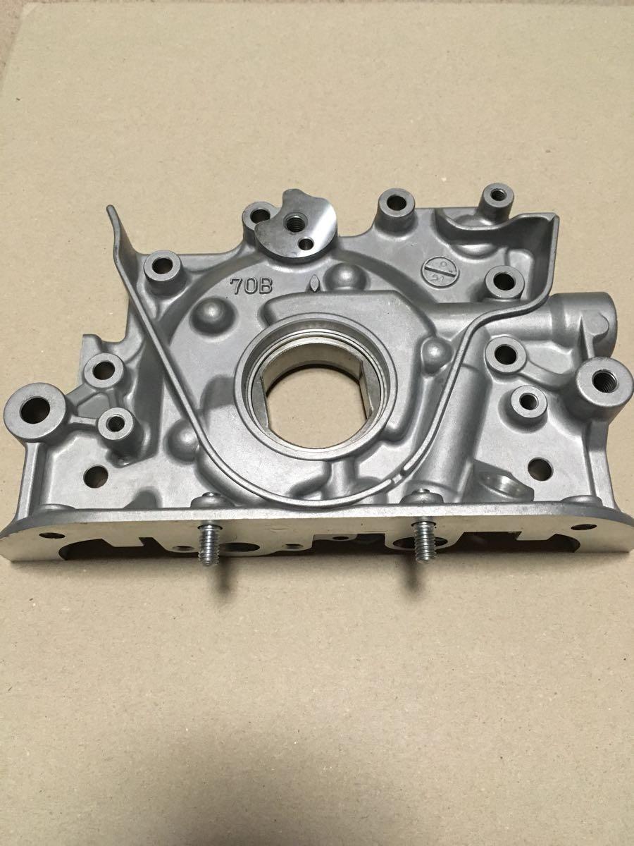 F6A カプチーノ アルトワークス 強化オイルポンプ 新品ベース加工品
