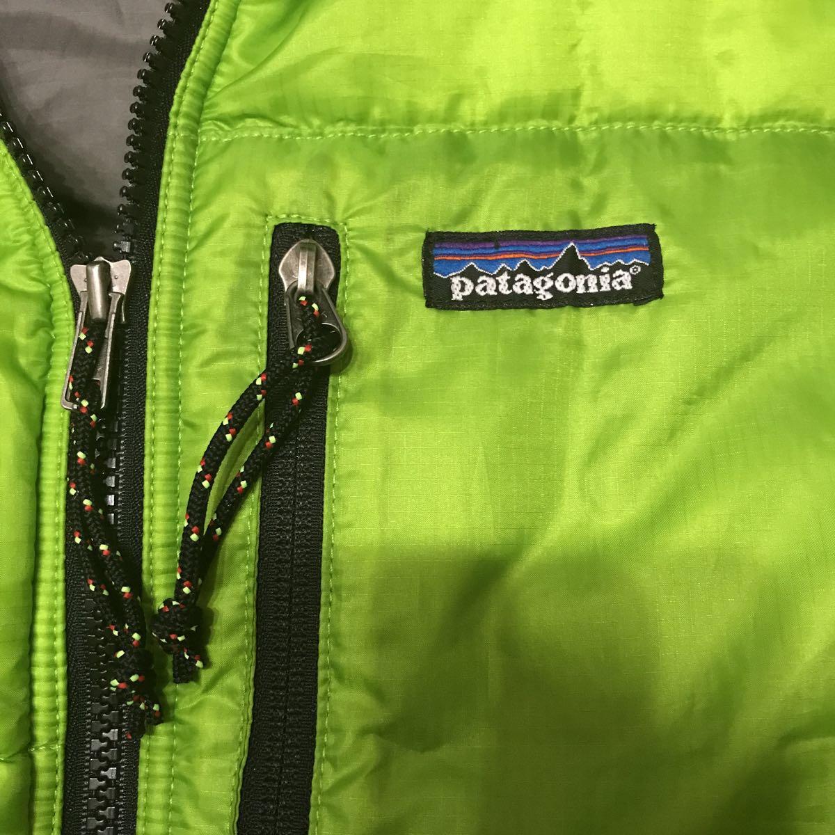 超美品 国内正規品 パタゴニア ダスパーカー ゲッコーグリー S F02 ヴィンテージ_画像4