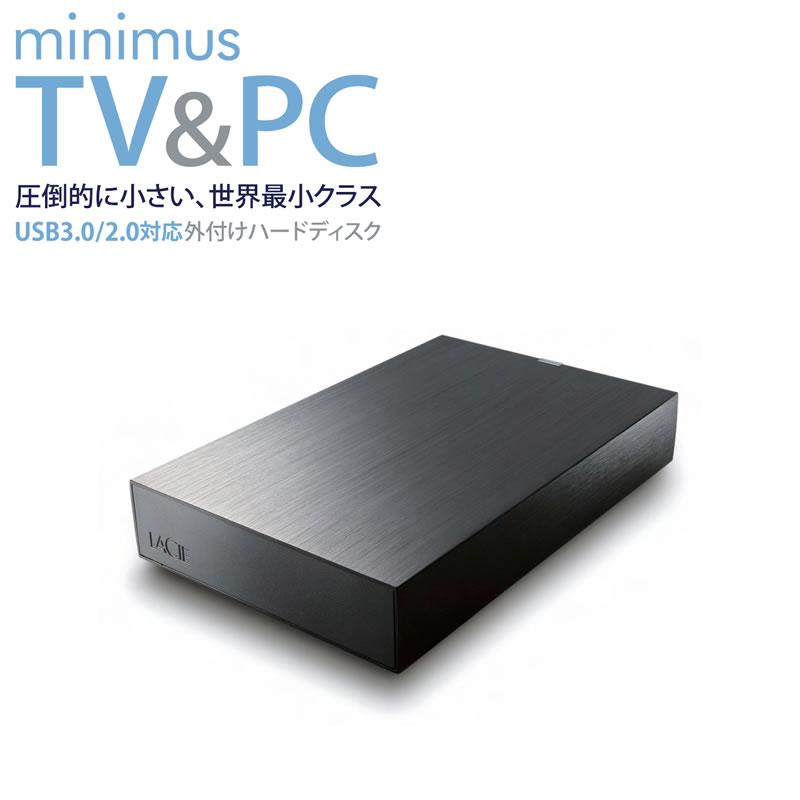 LaCie 世界最小クラスの超コンパクトアルミボディHDD USB3.0対応2TB (LCH-MND020U3) 開封新品