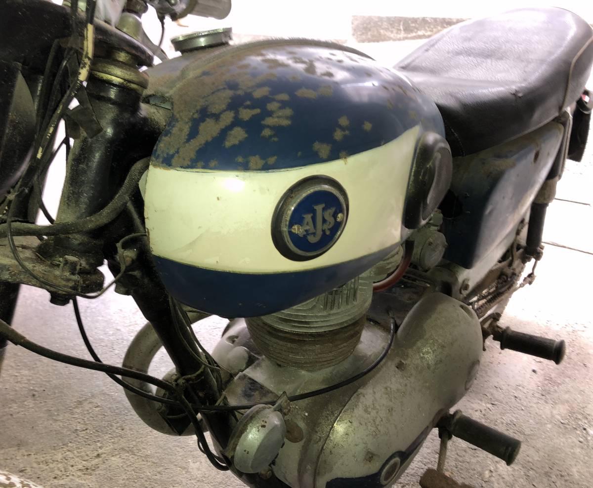 ☆ ビンテージ バイク AJS. 英国_画像4