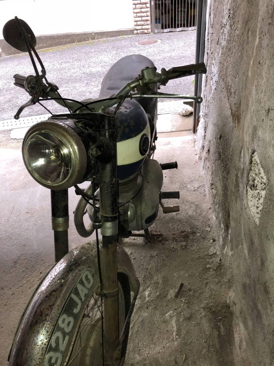 ☆ ビンテージ バイク AJS. 英国_画像10