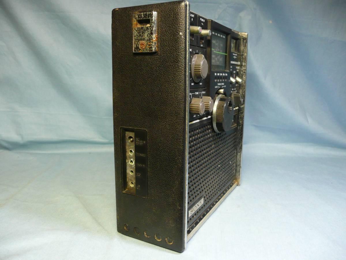 SONY ICF-5800 完全ジャンク品 部品取り用_画像3
