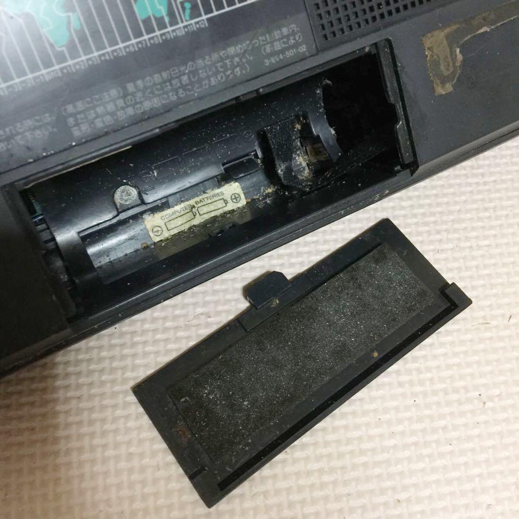 中古 SONY ICF-2001D マルチバンドレシーバー◆ジャンク品_画像7