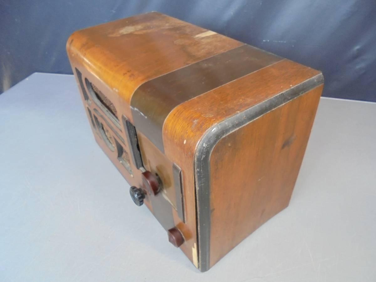 昭和レトロ 真空管ラジオ STANDARD BROADCAST スタンダード ブロードキャスト ジャンク品 (1322)_画像6