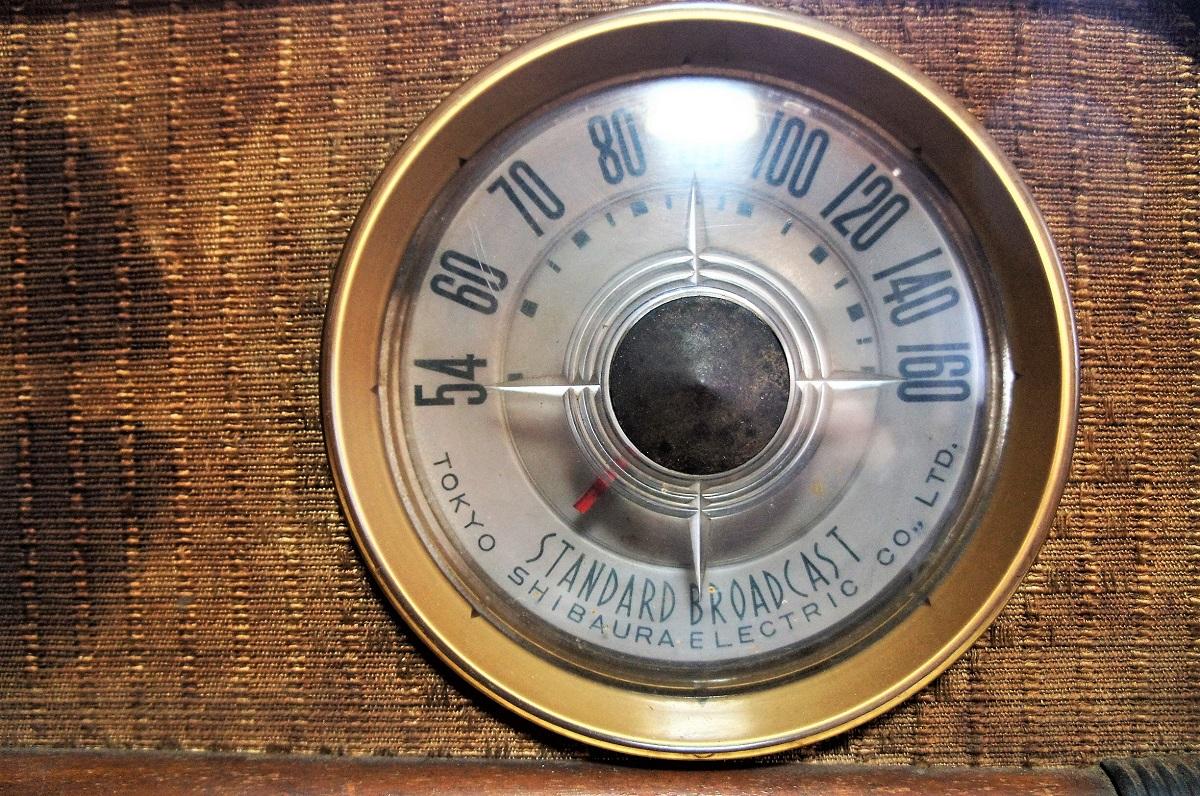 東芝真空管ラジオ MODEL 614A 未チェックのジャンク_画像9