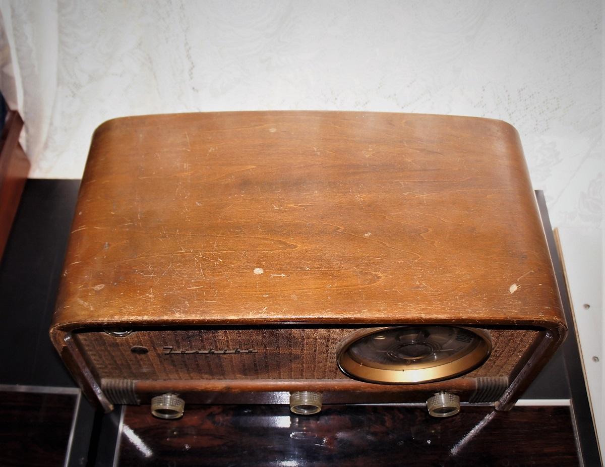 東芝真空管ラジオ MODEL 614A 未チェックのジャンク_画像4