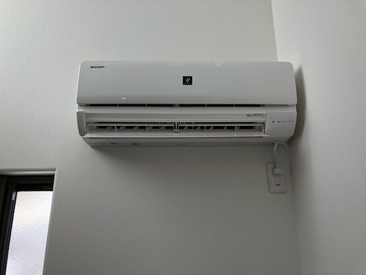 ★直接引取可能★ 【SHARP】AY-C25SD-W : 高濃度プラズマクラスター7000搭載 ルームエアコン