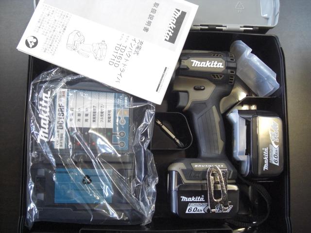(NEWモデル) マキタ TD161DGX (AB)落らく4 ブラウン 14.4V-6.0Ah 充電式インパクトドライバ (送料無料)