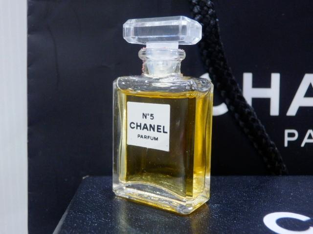 1円 CHANEL シャネル ロング ネックレス 香水 NO.5 ゴールド 未使用_画像6
