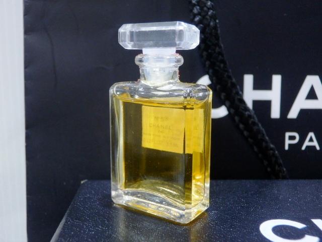 1円 CHANEL シャネル ロング ネックレス 香水 NO.5 ゴールド 未使用_画像7