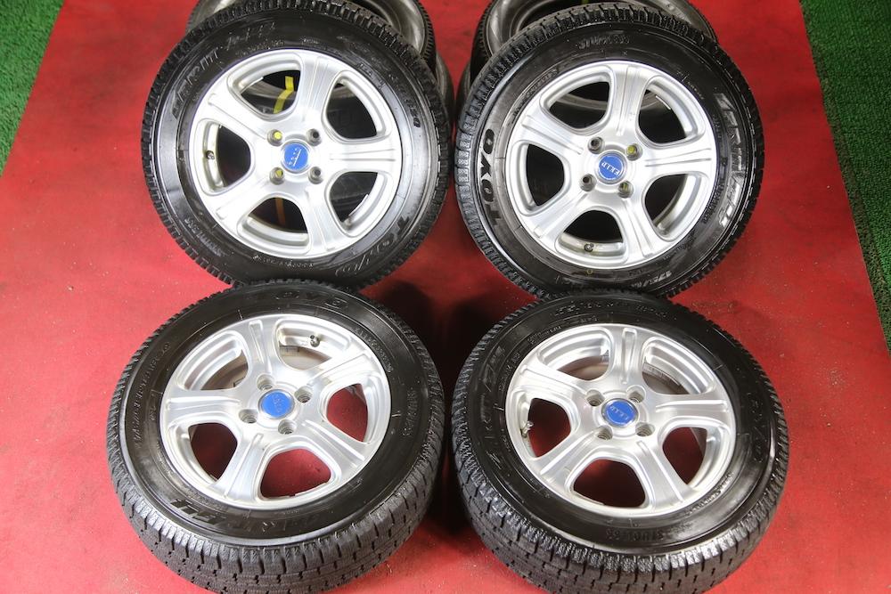 175/65R14 domestic production Toyo Tire 2013 year made with aluminium Passo Fun Cargo Raum Vitz Civic Fit Cube Sunny Note Lucino Demio etc.