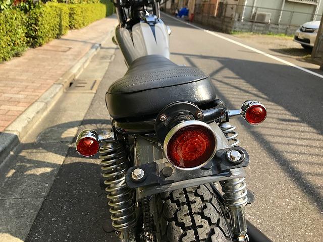 【HIP LINE】カワサキW650カスタムチョッパー★KAWASAKIバイクXS650_画像9