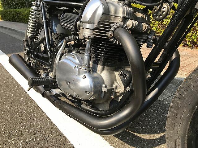 【HIP LINE】カワサキW650カスタムチョッパー★KAWASAKIバイクXS650_画像8