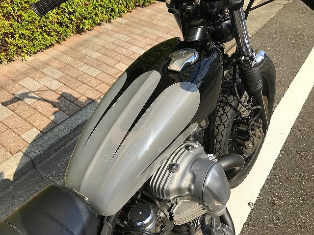 【HIP LINE】カワサキW650カスタムチョッパー★KAWASAKIバイクXS650_画像3