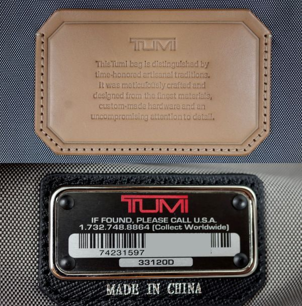 TUMI 33120D ASTOR 『トリニティ』キャリーオン [ ブラック ] $895_画像10