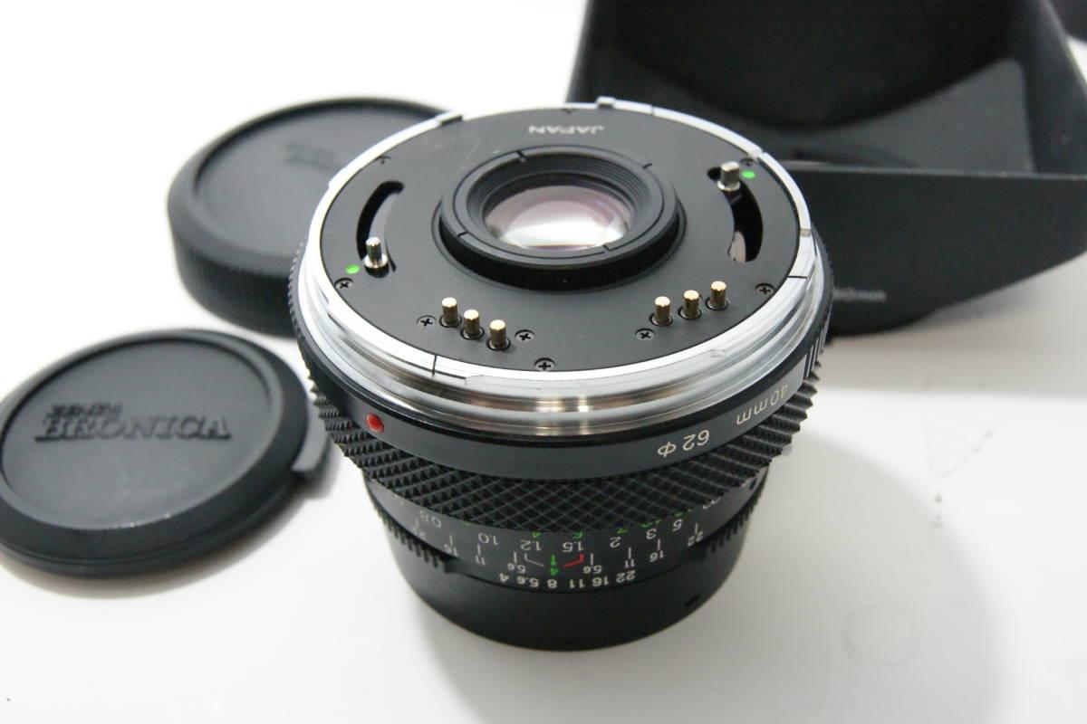 ブロニカ BRONICA ETR SI ワインダー付 40mm/f4 75mm/f2.8 150mm/f3.5 △カビ_画像6
