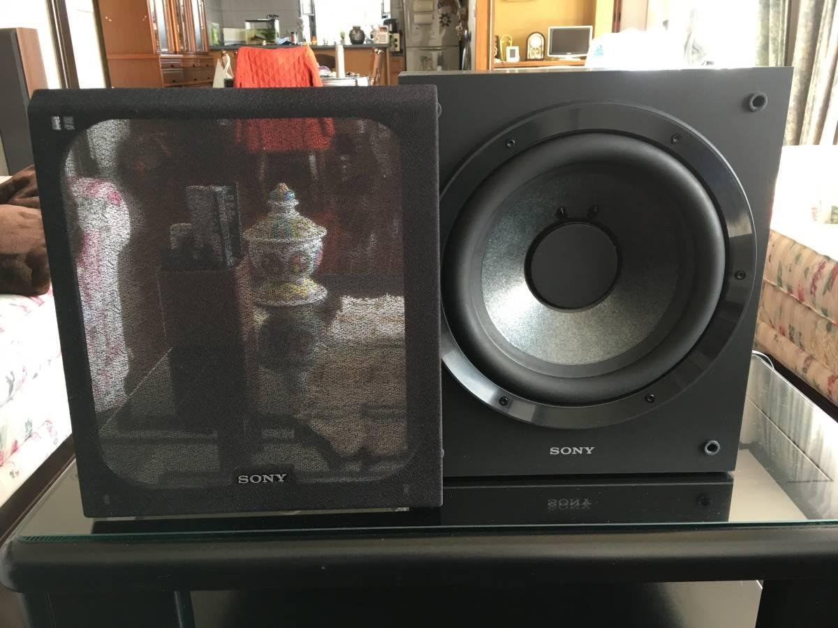 SONY Subwoofer  音確認に1回使用の新品同様製品