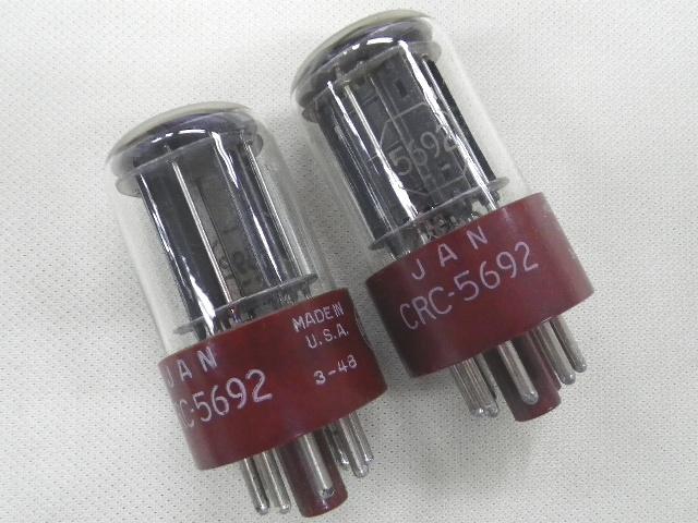 【009】レトロアンティーク真空管 RCA JAN CRC-5692 2本ジャンク