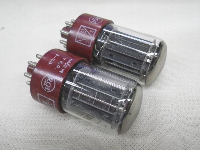 【009】レトロアンティーク真空管 RCA JAN CRC-5692 2本ジャンク_画像3