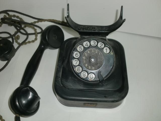 [南十字星]0323H戦前 黒電話 富士通信機_画像3