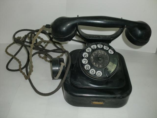 [南十字星]0323H戦前 黒電話 富士通信機