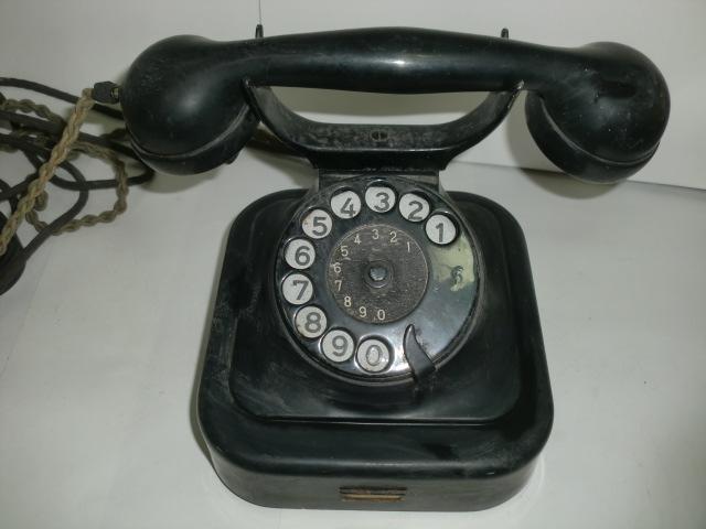 [南十字星]0323H戦前 黒電話 富士通信機_画像2