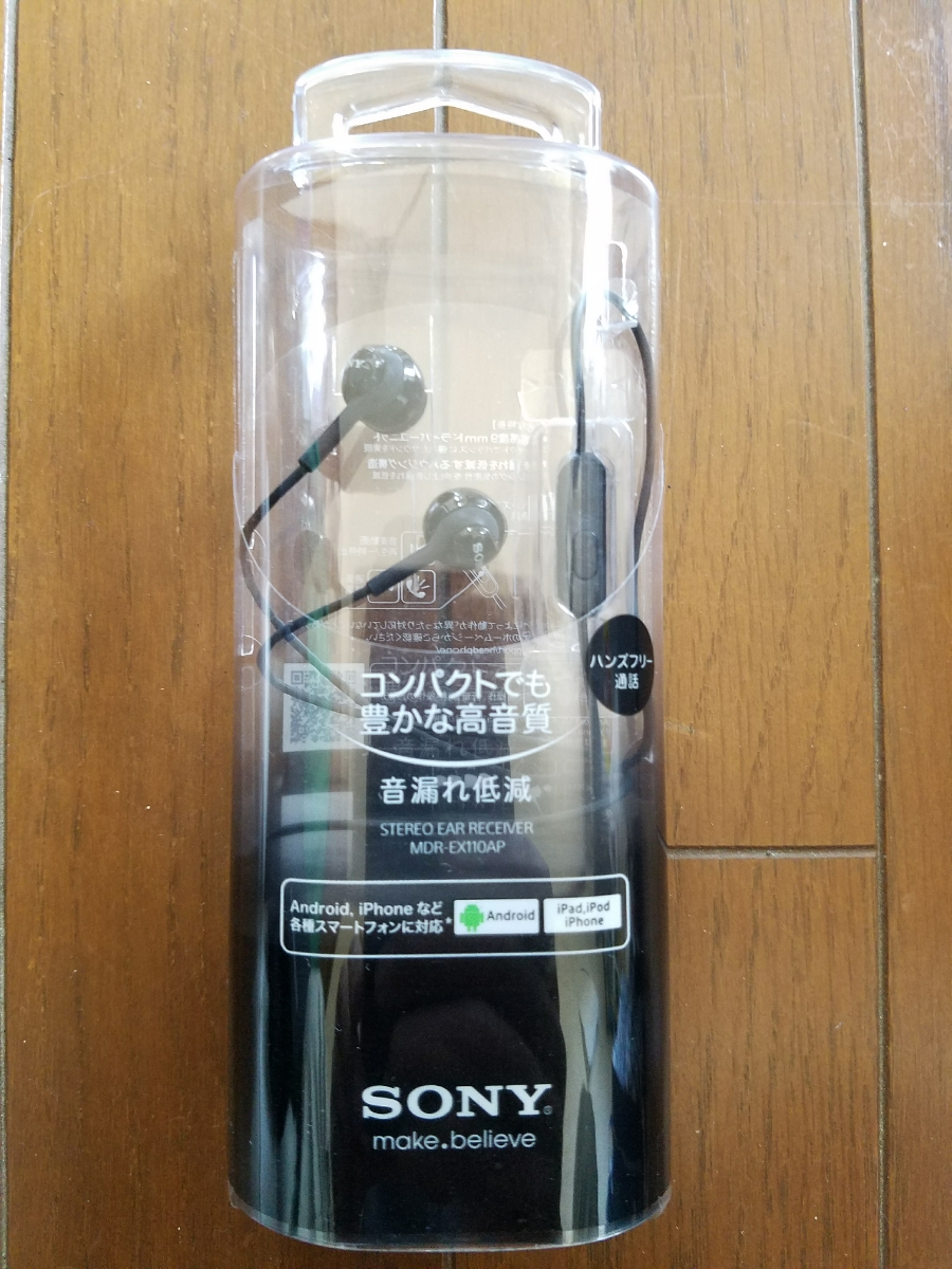 95c3770385e SONY MDR-EX110AP earphone Mike hands free Sony : Real Yahoo auction ...