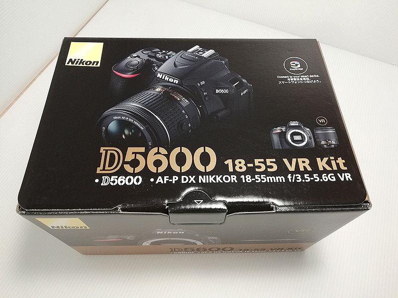 ★新品★最新 ニコン D5600 18-55 VR レンズキット★