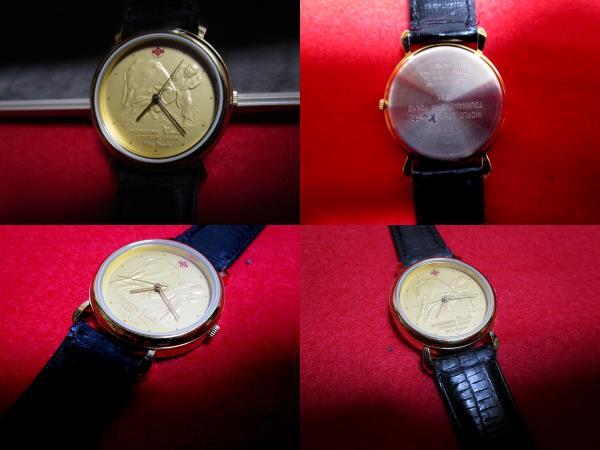 【未使用】『極真空手オリジナル腕時計(SEIKO)』第5回全世界大会記念300個限定_画像9