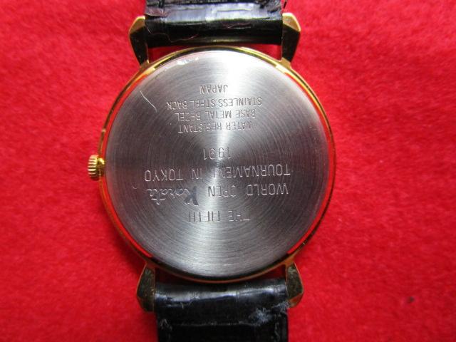 【未使用】『極真空手オリジナル腕時計(SEIKO)』第5回全世界大会記念300個限定_画像6